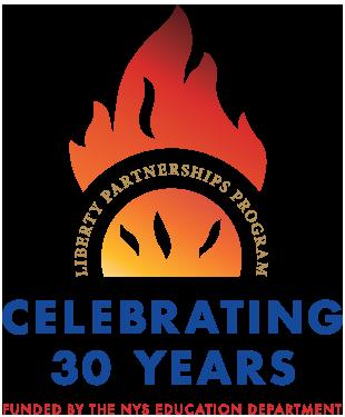 Liberty Partnerships Celebrating 30 years logo